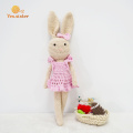 Amigurumi Crochet Doll Set Bunny Family toy