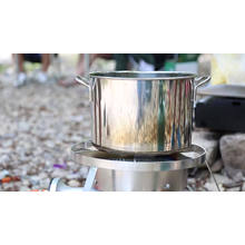 high quality portable LPG gas cooker double burner automatic ignition camping stove
