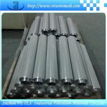 Elementos de filtro de acero inoxidable resistentes a los álcalis