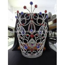 colorful rhinestone tiara crown