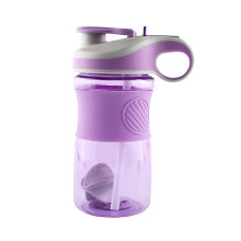 New Arrival 650ML BPA Free Plastic Bottles Sports Drinking Water Bottle With Stiring Ball