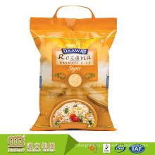 Оптовая цена фабрики изготовленный на заказ Размер Индии Рис Басмати Упаковка в полиэтиленовый пакет по 1кг, 2кг и 5кг