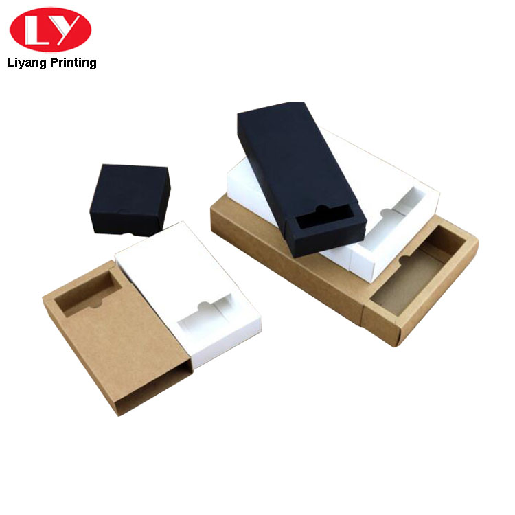 Kraft Paper Box Foldable