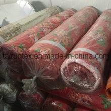Lagerbestand aus 100% Polyester Gebürstetem Pongee-Stoff für Bettwäsche-Set