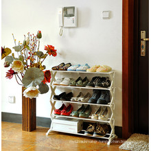 Bedroom Furniture Shelf Rack Shoe Rack Design (BDS-033)