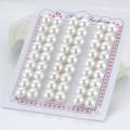 8mm Aaaa Forme à bouton Forme à moitié percé Paires assorties Vente en gros Perle en perle d'eau douce