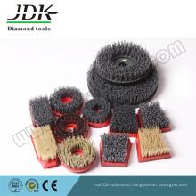 Nylon Round Abrasive Brush/Antique Brush for Stone Processing
