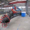 5000cbm / h 24 pulgadas draga de succión con cortador de dragado de arena de río para la venta