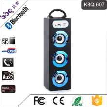 1200mAh batterie LED écran d'affichage sans fil bluetooth portable mini haut-parleur