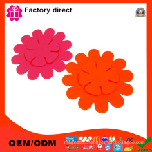 Set of 6 Lovely Cute Cup Mat Silicone Rubber Coaster for Wine Glass Tea