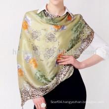 90x90cm digital printing silk scarf