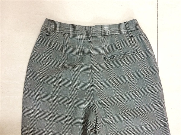 Woman Classic Check Pants