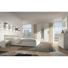 Modern Wooden Furniture Bedroom Set (HF-EY08317)