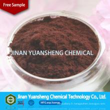 Lignine de sel de sodium d'acide sodique de lignosulfonique de liant d'engrais