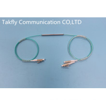 1 to 2 Singlemode Fiber Optic Coulper with Steel Tube Package