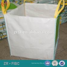 1500 kg fibc big bag para resíduos de construção - Side-Seam Opção Loop Loop pp FIBC big bag