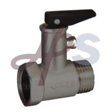 никелированная латунь клапан предохранительный