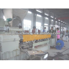wood plastic pellet making machine