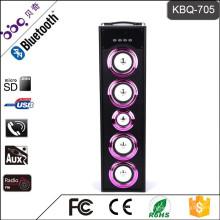 BBQ KBQ-705 45W 5000mAh Bluetooth Mini Président de DJ
