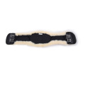 Anatomic short girth with detachable lambskin cover