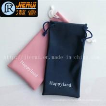 Индивидуальная рекламная дешевая сумка для ткани с материалами из микрофибры