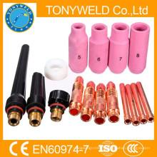 TIG KIT & WP SR 17 18 26 Série TIG Soudage Torch Consommables Accessoires 16PK