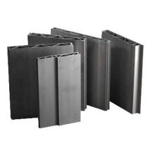 Perfiles de aluminio para pared lateral y piso de carro de metro
