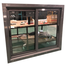 Tempered glass aluminium sliding windows aluminium window