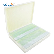 Biology Of Microscope Slides Set 100 PCS