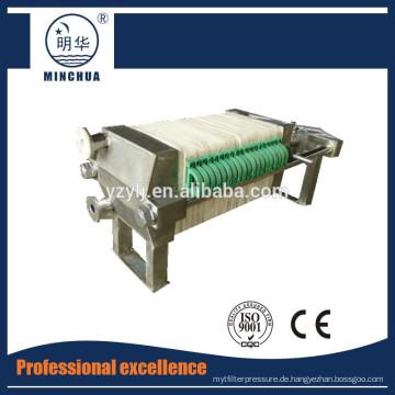 320 Kleine Ton Manuelle industrielle Abwasserfilterpresse
