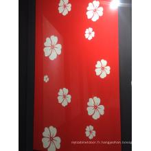 Panneau en MDF acrylique coloré 18 mm pour armoire de cuisine (zhuv)