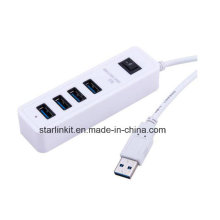 USB Hub Plug and Play Hot Swappable for Flash Drivers