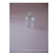 2oz Boston Clear Pet botella sin bomba de loción