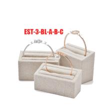 Пена стекаются ювелирные изделия Дисплей серьги комплект Оптовая торговля (ЭС-3-БЛ-А-Б-С)