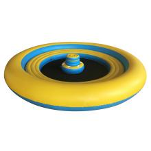 forme ronde Grande île flottante gonflable