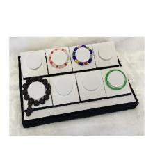 Good Quality White Black Bangle Bracelet Display Tray Wholesale