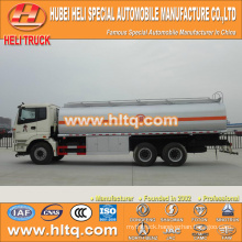Auman 6x4 20000L stainless steel storage tanker for sale , china factory supply