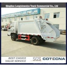 Camión de basura compresivo de bajo precio 4X2