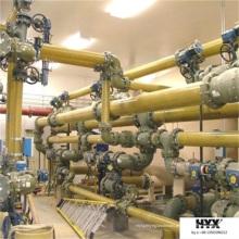 T de GRP / FRP - Encaixes de tubulação para conexão de tubulação ou tanque