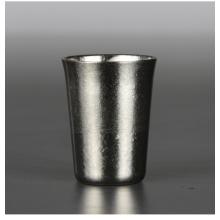 Pure titanium wine glass