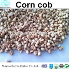 Harina de mazorca de maíz para pulir gránulos de mazorca de maíz de malla 80-120