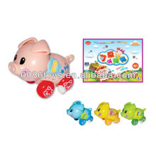 cute pig kid toy, wind up toy