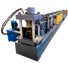 China manufacture aluminum high speed light duty strut helf cabinet rack frame roll forming machine