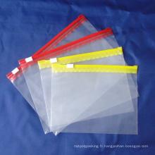 Sac à rayures en plastique