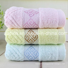 Custom Cotton Towel with Embroidered Logo (AQ-006)