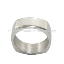 Wholesale Blank Ring for Men Stainless Steel Jewelry with Engrave Logo