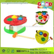 Brinquedos clássicos para crianças Brinquedos Brinquedos para martelos para crianças Jogo de martelo de madeira