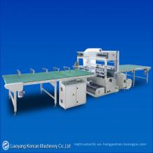 (KDZ-2200) Máquina de embalaje automática de sellado y encogimiento de 4 lados / envoltura de encogimiento