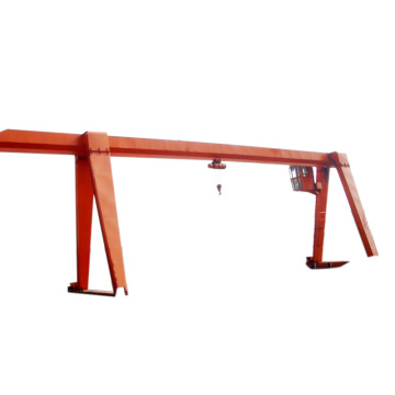 16ton chain hoist single girder gantry crane harga
