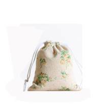 Patterned Drawstring Cotton Bags Customized